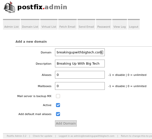 Self Hosted Private Email